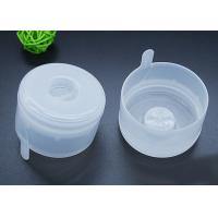 Quality Non Spill Water Bottle Caps Disposable lids For 18.9l Water Bottles in Transparent White for sale