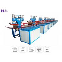 PVC Label High Frequency Welding Equipment G Frame Steel Structure With Integrated HF Generator