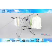 Wholesale Folding Wing Heavy Duty Clothes Drying Rack , Indoor Outdoor Steel Metal Clothes Drying Racks from china suppliers