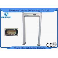 Wholesale 18 Zone Door Security Guard Metal Detector Airport Body Scanner With High Sensitivity from china suppliers
