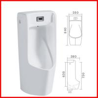 Wholesale cheap ceramic wall hand automatic sensor urinal urine pot for male from china suppliers