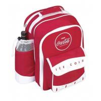 China Backpack Coca Cola Bistro Backpack New Coke Picnic Bag Coca Cola Backpack  student lunch bag Supplier on sale