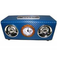 Wholesale Band True Clock with Display USB Mini Speaker FM Radio Sound Box (UK-D09) from china suppliers