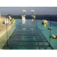 Wholesale Portable aluminum acrylic stage platform for swimming pool , aluminium stage deck from china suppliers