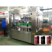 Wholesale High Viscosity Ketchup / Honey / Jam / Automatic Liquid Filling Machine Piston Filling 6000 bottles per hour from china suppliers
