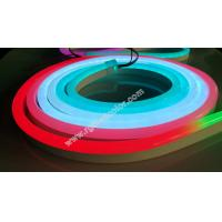 Wholesale dc12v 60led digital rgb flexible neon strip light for holiday decoration from china suppliers