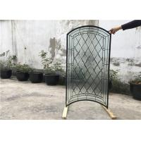 Wholesale S010 Patterned Decorative Bathroom Window Glass Heat Insulation Various Shape from china suppliers