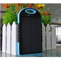 Wholesale New Waterproof Solar Power Bank 5000mAh for Promotion from china suppliers