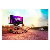 Wholesale P 10mm Rotating Truck Mobile LED Display Double Side Advertising / Full Color LED Display from china suppliers
