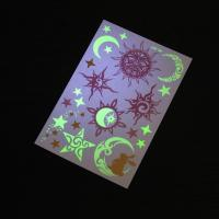 Wholesale Adults Glow In The Dark Temporary Tattoos Stickers Waterproof Mixed Pattern from china suppliers