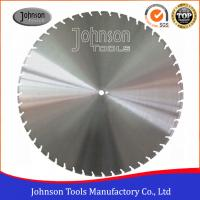 Wholesale 900mm Laser Welded Diamond Floor Saw Blades 40 X 5 X 10mm X 52nos Segment from china suppliers