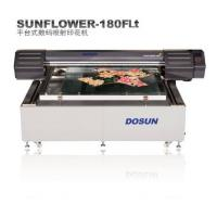 Wholesale High Precision Flatbed Digital Textile Printing Equipment 1800 mm × 1500 / 2000mm from china suppliers