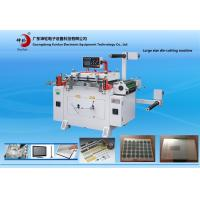 Wholesale Automatic Feeding Film Paper Roll Die Cutting Machine With Punching / Conveyor Belt from china suppliers