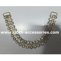 Wholesale 35cm Crystal Clear Handmade Beaded Necklaces Diamond Shape For Wedding from china suppliers