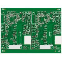 Wholesale UL ISO lead free 1 layer 0.2MM min.track Copper immersion goldosp HASL FR4 assembly pcb board from china suppliers