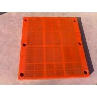 Wholesale Linear Red Orange Yellow Polyurethane Screen Panels Not Easy To Block Holes from china suppliers