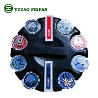 Buy cheap Round Corner 200 Pcs Beautiful Poker Chips Plastic / Clay / Ceramic Poker Chips Set from wholesalers