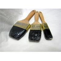 Wholesale Wooden Handle Flat Wall Paint Brush , 2 Inch / 3 Inch Professional Paint Brushes from china suppliers