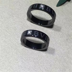 Wholesale Bvlgari bvlgari bvlgari series black ceramic diamond ring from china suppliers