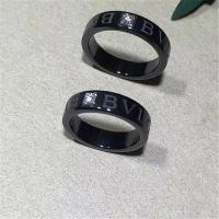 Wholesale Luxury jewe factory bvlgari bvlgari series black ceramic diamond ring from china suppliers