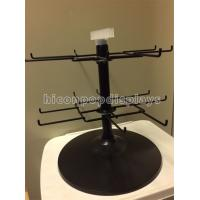 Wholesale Black 2 - Tier Spinner Rack Display Stand 16 Hooks Swivel Display Rack For Products from china suppliers