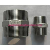 Wholesale Stainless Steel NPT BSP Two Sides Male Thread Connector For Fountain Frame DN15 - DN200 Pipe Nipple from china suppliers