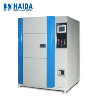 Wholesale Hot and Cold Temperature Thermal Shock Environmental Test Chamber RS -232 / USB communication from china suppliers