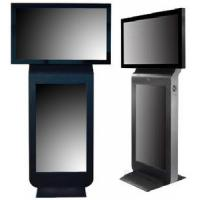 Quality Standalone Dual Screen Kiosk, Freestanding Digital Signage For Subway / Bus Station for sale