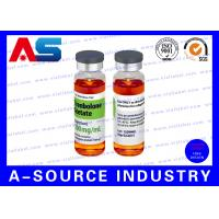 Wholesale Testosterone Enanthate 250 Steroid Vial Labels Plastic Waterproof from china suppliers