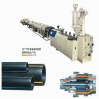 Wholesale Single Screw Thick Wall HDPE Pipe Extrusion Machine Speed Adjusted By Inverter from china suppliers