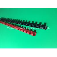 Colorful 1/2 Inch Wire Binding Combs 100Pcs / Box With Flexible Teeth
