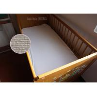 Wholesale Toddler Zippered Cotton Crib Waterproof Mattress Cover Single Size from china suppliers