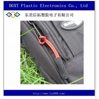 Wholesale Wholesale slip-resistant black silicon zipper puller for apparel luggage bag sportwear from china suppliers