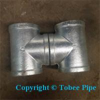 Wholesale Hot sales Malleable Iron Pipe Fittings tee from china suppliers