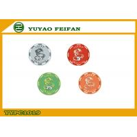 Wholesale Lucky Dragon Ceramic Custom Poker Chips , Casino Grade Poker Chip from china suppliers