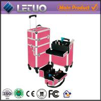 Quality cheap wholesale beauty cosmetic makeup trolley case professional cosmetic trolley cases for sale