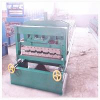 Wholesale Automatic  Metal Sheet Glaze Tile  Roll Forming Machine With Color Steel from china suppliers