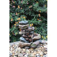 Wholesale Decorative Tower Hand Cast Rock Water Fountains OEM Acceptable from china suppliers