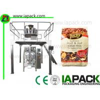 Buy cheap Gusset Bags Doypack Packing Machine 200G - 500G Nuts 50 bags/min from wholesalers