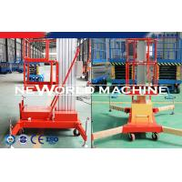 Wholesale Electric Aluminum Alloy Aerial Work Platform Rental Telescopic Man Lift Platform from china suppliers