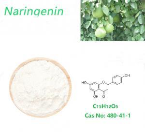 China Anti Inflammatory And Antioxidant Naringenin White Powder For Cosmetics and Food on sale