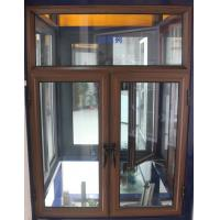 Wholesale 1.4mm profile thickness brand new aluminum casement windows wiht fly screen for commercial from china suppliers
