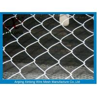 Wholesale Eco Friendly Chain Wire Fencing , Chain Link Wire Fence For Basketball Bround from china suppliers