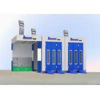 Wholesale 7M Outside Down Draft Garage Spray Booth , Prep Station Spray Booth Equipment from china suppliers