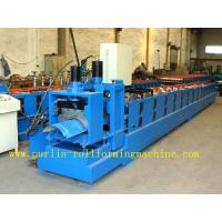 Wholesale ISO / CE Approved Metal Ridge Cap Tile Roll Forming Machine Production Line High Speed from china suppliers