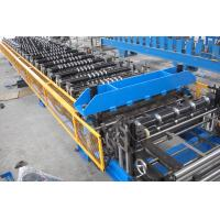 Wholesale 19 Stations Double Layer Sheet Roll Forming Machine with Hydraulic Automatic Cutting Unit from china suppliers