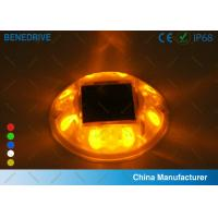 Wholesale Polycarbonate Traffic Supply Solar Powered Ground Lights 500 LUX  Over 10 Tons Compression from china suppliers