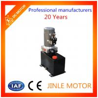 Wholesale 24VDC 12vdc Hydraulic Power Unit For Fork Lift , Displacement 1.2mL/r from china suppliers
