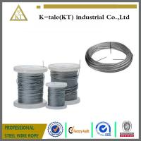 Buy cheap cheaper price Stainless Steel Wire rope  for hot sale in walmart plastic wheel good quality from wholesalers