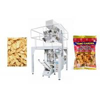 China 10 Heads Weigher Automated Packing Machine for Snacks / Peanuts , Easy Operation on sale